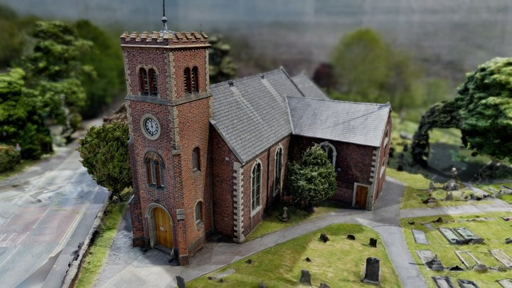 St Luke's Church - Lowton 3D Model