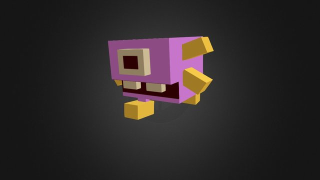 Q- Mon2 3D Model