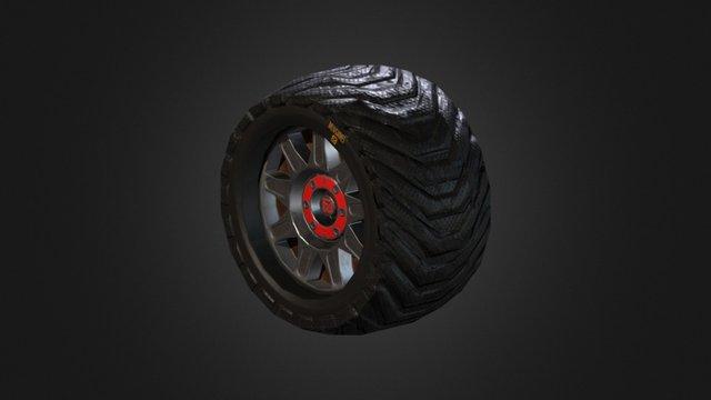 Koleso 3D Model