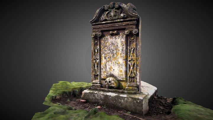 Prestonkirk 1732 Headstone, East Linton 3D Model