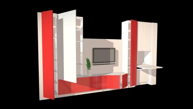 AvB Kastwand 3D Model