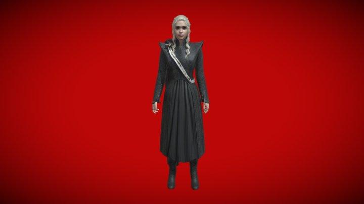 Daenerys 3D Model