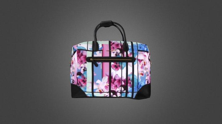 Vera Bradley Tote Bag Photogrammetry 3D Model