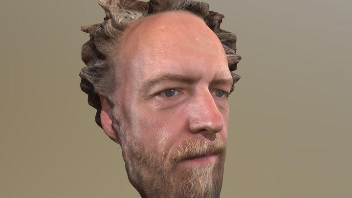 Jason head-scan 3D 3D Model