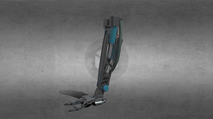 mech leg 3D Model