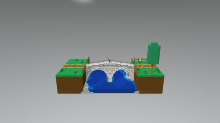 Spectacles bridge 3D Model