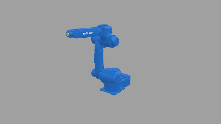 YASKAWA Robot No. EPX1250 3D Model