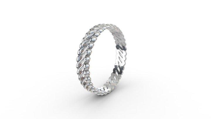 Asymmetric Ring 3D Model