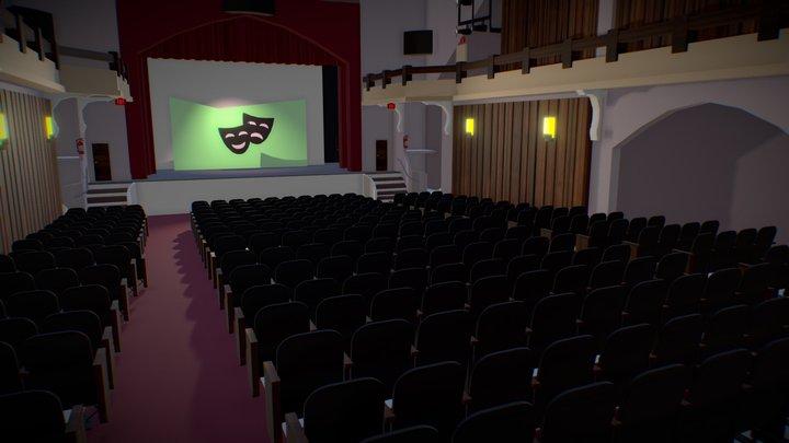 Theater by Eiby Pagán & Jocelyne Andino 3D Model