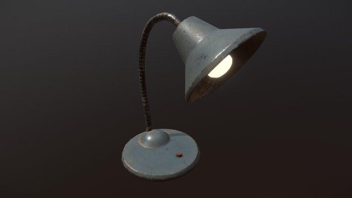 """Old """"USSR"""" Lamp 3D Model"""