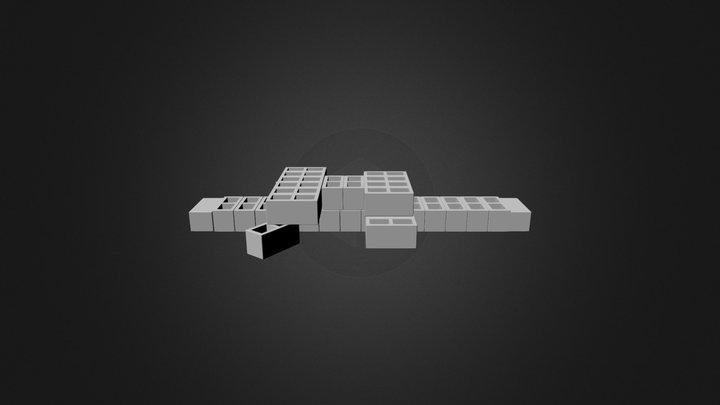 Cocodrilo 3D Model