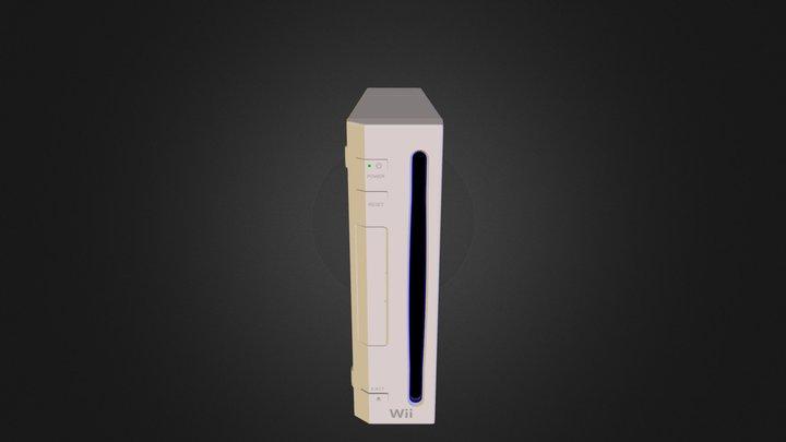Nintendo Wii 3D Model