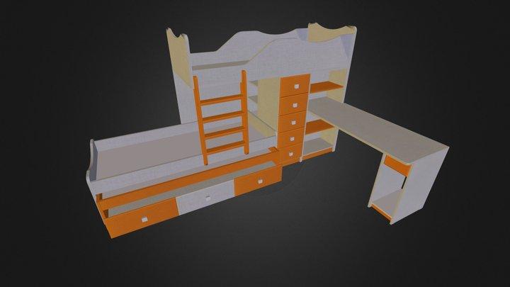 חלומית 1 דוג 1 יחי כונן 3D Model