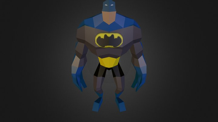 Venom modo Batman!  3D Model