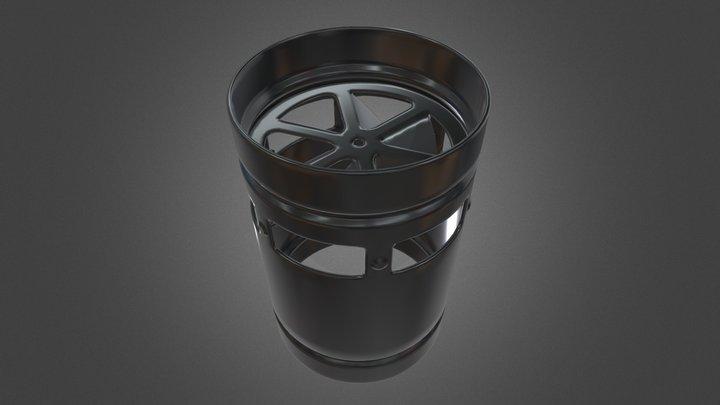 Diffuser Pro Swirl 3D Model
