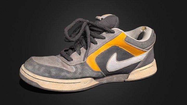 Nike Renzo (used) 3D Model