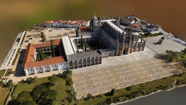 Modelo 3D do Mosteiro Da Batalha 3D Model