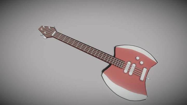 Marcelines bass axe 3D Model