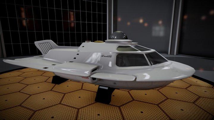 """""""Fantastic Voyage"""" Film-Set 3D Model"""