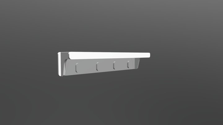 Prateleira Anis 3D Model