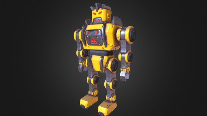 Stupid Robot 3D Model