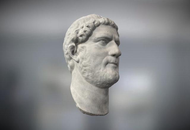 Roman Sculpture 3D Model