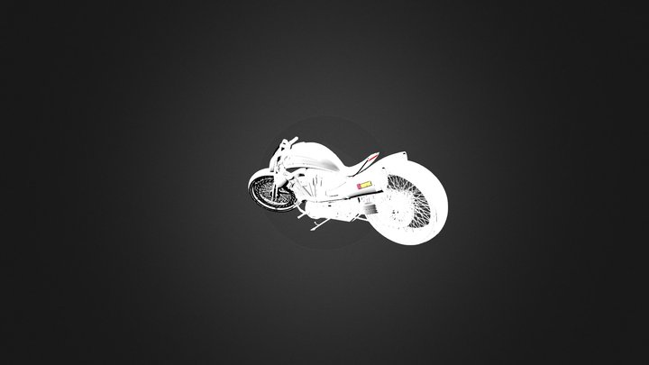 Concept Chopper 3D Model