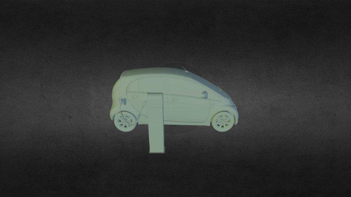 EV charge 3D Model
