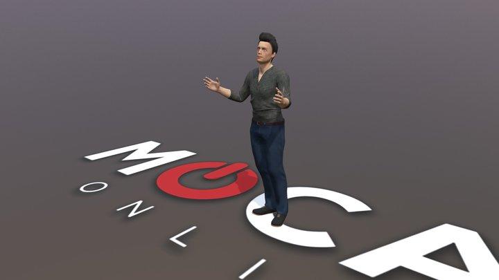 Daz3D Conversations Animation - Michael 8 3D Model