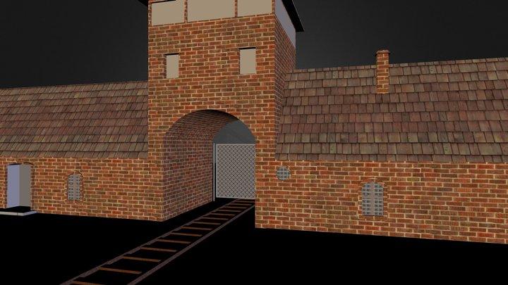 Auschwitz Entrance 3D Model