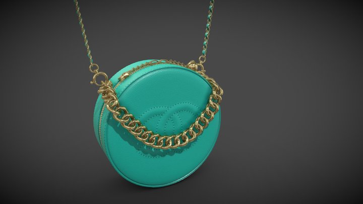 Chanel Bag Round As Earth 3D Model
