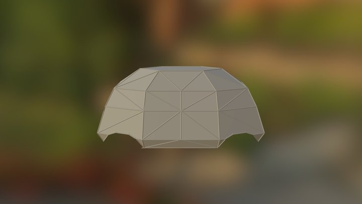 MakerBay Electric Vehicle Dome Frame (Version 2) 3D Model