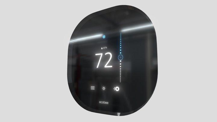 Ecobee Smart Thermostat 3D Model