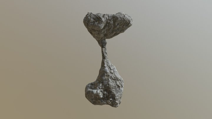 Stalagmite Formation 2 3D Model