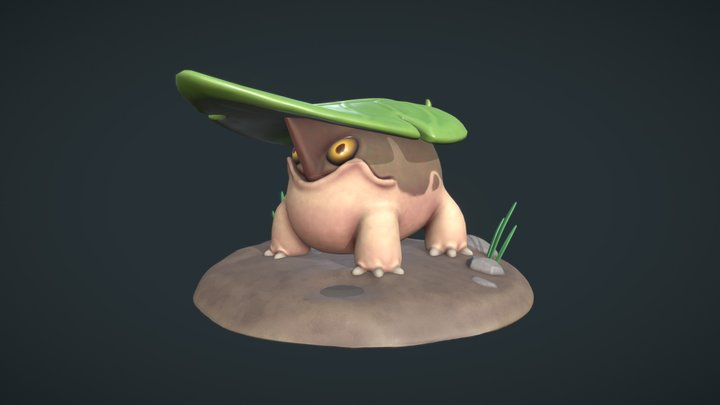Leaf Dragon 3D Model