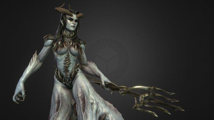 Dweller Of The Deep Low 3D Model