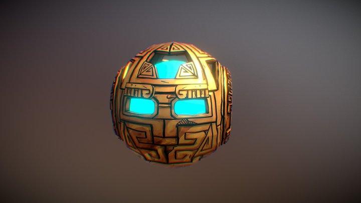 Ezra 3D Model