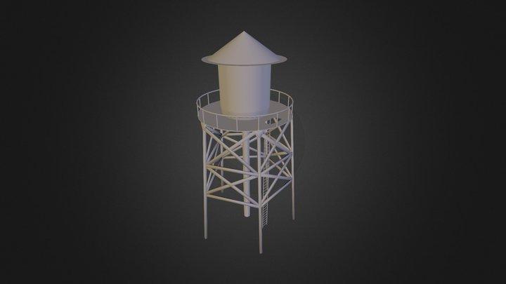 Water Tower v1 3D Model