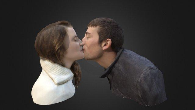love a kiss 3D Model