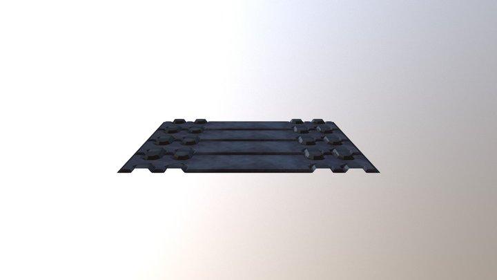 Modular Floor Panel - Staffordshire Uni 2017 3D Model