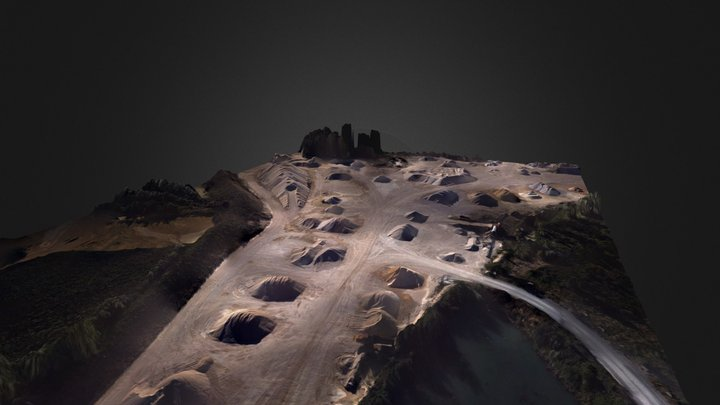 Quarry Cognac 3D Model