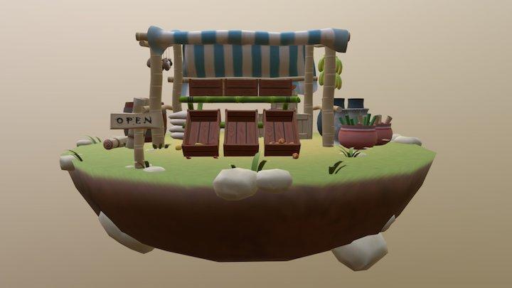 One Stop Shop 3D Model