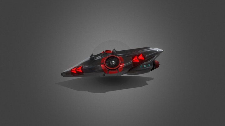 Futuristic Cycles 3D Model