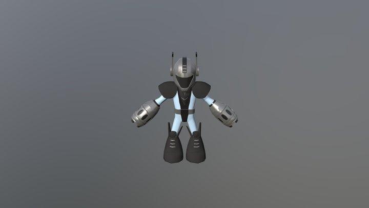 Galaxy Boy 3D Model