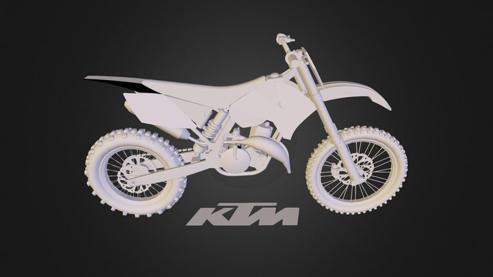 KTM 3D Model