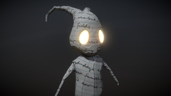 Made of Paper 3D Model