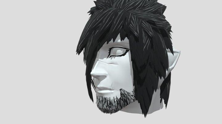 Muskrai (OC) head 3D Model