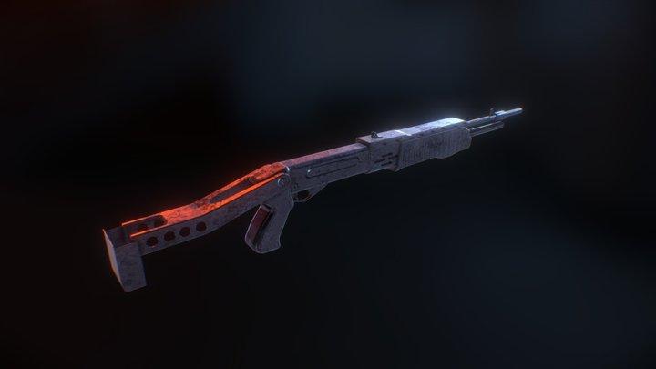 Hellstorm SPAS 3D Model