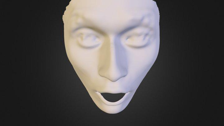 face-09-surprise 3D Model