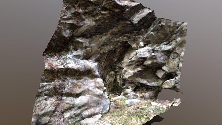 Belchertown Cave Inscription 4 3D Model